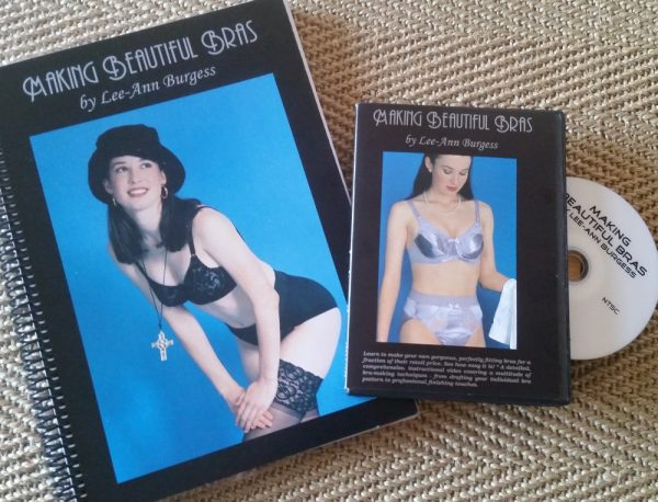 Making Beautiful Bras book and DVD